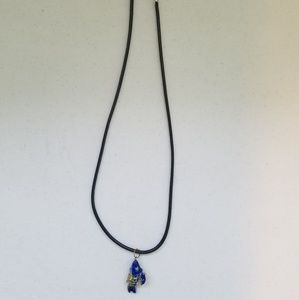Jewelry - Sale Blue and Gold Koi Fish Necklace